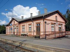 Pieksämäen rautatieasema. Kuva: MV/RHO Soile Tirilä 2006