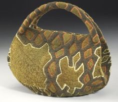 patternprints journal: THE EXTRAORDINARY FIBER ART WORKS WITH FELT BY LISA KLAKULAK