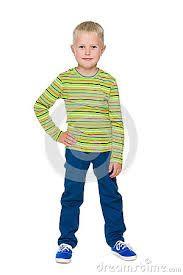 Afbeeldingsresultaat voor kind met blauwe broek