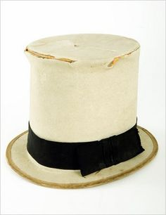 """W. C. Fields loved a good top hat. He wore this one during the filming of """"Poppy"""" (1936)."""