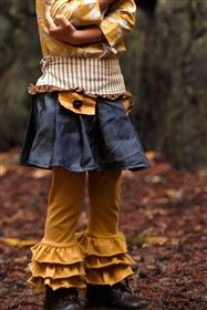 Persnickety Clothing - Fern Skirt in Denim