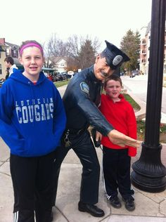 Photos at Police Man Statue - Carmel, IN