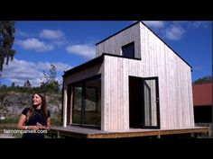 There are 500,000 cabins in Norway for 5 million people, explains architect Marianne Borge. While the size of these second homes has grown in recent decades, Borge wanted to return to the simple living roots of traditional Norwegian hytter (cottages).   http://www.marianneborge.com