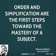 Order & Simplification