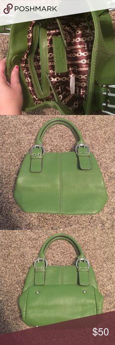 NWOT!!! Green Tignanello purse Real leather mini bag !!! Tignanello Bags Mini Bags