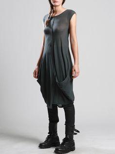 TRANSPARENT COTTON DRESS - JACKETS, JUMPSUITS, DRESSES, TROUSERS, SKIRTS, JERSEY, KNITWEAR, ACCESORIES - Woman -