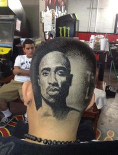 This barber is an amazing artist.