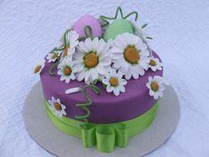 Torta Primavera in pasta di zucchero