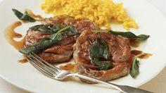 Kalbsschnitzel mit Salbei (Saltimbocca)