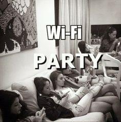 #wifi #party  #LetsGetWordy
