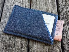 Minimalist Fabric Wallet Fabric Men Wallet Slim by MayCheang