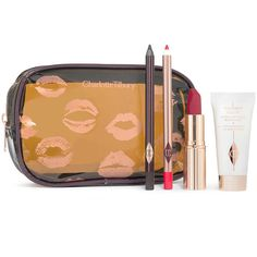Charlotte Tilbury Quick and Easy Makeup Red Carpet Party ($75) ❤ liked on Polyvore featuring beauty products