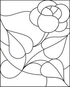 Another site that has stained glass that can be used for Applique …
