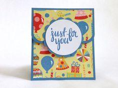 Birthday Gift Card Holder - Money Holder - Happy Birthday Card - Money Envelope - Party Gift Card - Gift Card Carrier - Gift Card Envelope