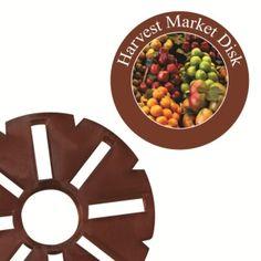 Large Harvest Market Fragrance Disk for LED Holiday Wax-less Warmer Over 70 hours of fragrance.
