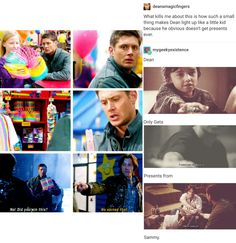 supernatural tumblr textpost destiel cockles dean winchester castiel cas misha collins gifset jensen ackles jared padalecki mark sheppard sam winchester team free will crowley mary winchester  claire novak fanart fan art