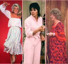 Three's Company, the other big t.v. series on ABC, besides Charlie's Angels.