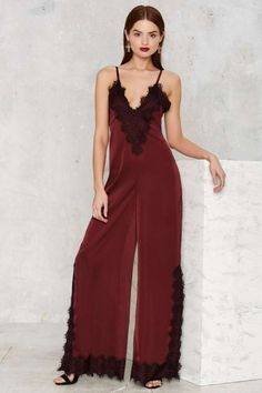 Nasty Gal Lace of the Ex Jumpsuit - Clothes | Rompers + Jumpsuits | Valentine's Day | Valentine's Day | Rompers + Jumpsuits