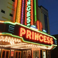 Princess Theatre in Decatur, Alabama Decatur Alabama, Small Town America, Sweet Home Alabama, Advertising Signs, Old City, Day Trips, Places Ive Been, Road Trip, Theatre