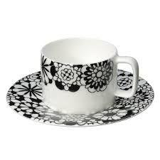 Missoni Home - Bianco Nero Tea Cup u0026 Saucer  sc 1 st  Pinterest & Missoni Margherita Dinnerware photo   My Style   Pinterest   Missoni ...