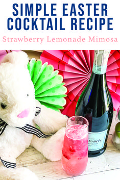 Make this delicious mimosa for Spring Brunch or Easter breakfast with the easy recipe from Everyday Party Magazine #EasterCocktail #EasterRecipe #Mimosa #Cocktails