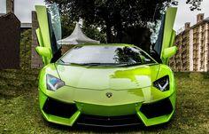 Zeleni lamborghini   Slike auta za pozadinu
