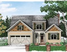 Caulfield - Home Plans and House Plans by Frank Betz Associates