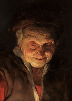 """Detail from """"Old Woman and Boy with Candles"""" by Peter Paul Rubens Paintings, Hyperrealism Paintings, Self Portrait Drawing, Academic Art, Peter Paul Rubens, Classic Paintings, Chiaroscuro, Classical Art, Illustrators"""