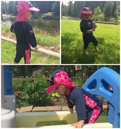 When you are spending your summers here, you definitely need to be sun conscience. We have been wearing our Konfidence UV protection to protect the kids. Swimming Gear, Kids Swimming, Sun, Let It Be, Sports, Hs Sports, Sport, Solar