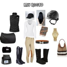 my rootd by madisongisler on Polyvore featuring Splendid, The North Face, UGG Australia, Burberry, Michael Kors, Hermès, Polo Ralph Lauren, Ariat and Chooze