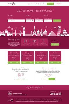 Travel Insurance Web Refresh by S k i b b y