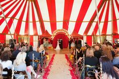 A Circus Wedding in California...fun! Not really for me, but still pretty sweet!
