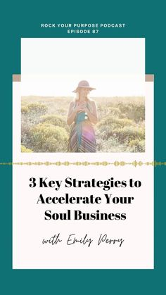 If you're tired of trying to get your act together in your Soul Business, this episode of the Rock Your Purpose Podcast is for you!  These three key strategies have really moved the needle in my soul business— and I know they will help you, too.  #rockyourpurposepodcast #podcast #entrepreneur #soulbusiness #branding #leader #heartcenteredleader Podcast Topics, Purpose Driven Life, Tired Of Trying, Starting A Podcast, Transform Your Life, Talking To You, Leadership, Entrepreneur, Acting