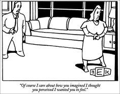 Of course I care... (original art by Bruce Eric Kaplan)