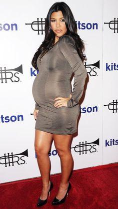 Kourtney Kardashian's Maternity Style - October 21, 2009 - from InStyle.com