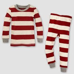Tis the season to get comfy and cozy with your family in these toddler Burt's Bees Baby rugby striped family pajamas. In cranberry. Family Holiday Pajamas, Family Pajama Sets, Striped Pyjamas, Cotton Pyjamas, Organic Baby, Organic Cotton, Christmas Pjs, Rustic Christmas, Christmas Decor