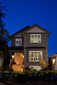 100% Full Custom Home in Vancouver contemporary exterior
