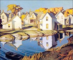 AJ casson paintings - Google Search