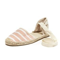 Pin for Later: Everything You Need to Heat Up Your Summer Style Soludos Classic Stripe Sandal