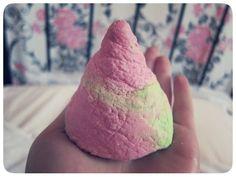 would be cute to DIY lush candy mountain bubble bar