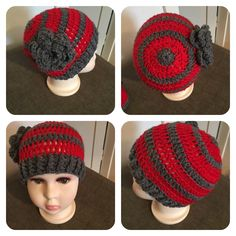 Baby beanie by me :-)