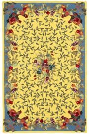 Nourison Country Heritage Hand-Hooked Yellow Area Rug Rug Size: x Decor, Yellow Area Rugs, Yellow Accents, Cottage Style, Floral Rug, Country Shabby Chic Decor, Home Decorators Collection, French Country Rug, Area Rugs