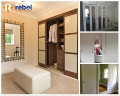 We offer a wide range of options and services to meet your #wardrobe needs: • Sliding and hinged wardrobes • Mirror, glass and timber doors • Renovate existing wardrobes • Custom walk in wardrobes www.rebelwardrobes.com.au #RebelWardrobes