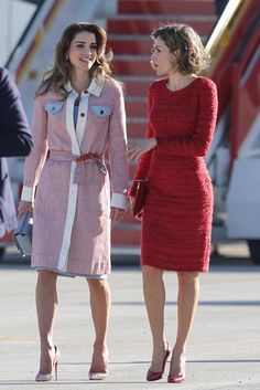 Moda real: Letizia y Rania, dos reinas modernas!
