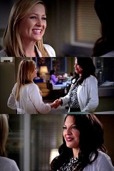 Even in an alternate reality, Calzona still stands 💜 Grey's Anatomy, Calliope Torres, Addison Montgomery, Jessica Capshaw, Arizona Robbins, Greys Anatomy Cast, Cristina Yang, Private Practice, Still Standing