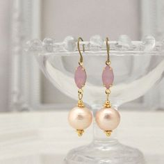 ◆Material: Cotton pearl  -Cotton pearls are compressed-cotton with pearl coating and the weight is incredibly light.  You feel as if you were wearing