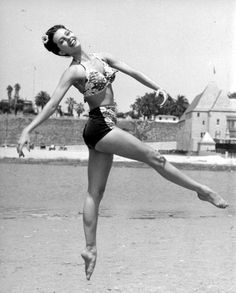 Cyd Charisse, another amazing dancer