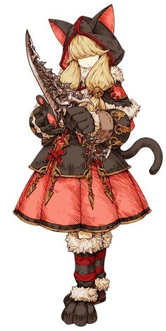 Black Cat Mage / Knights of Glory