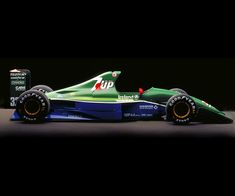 The very pretty Gary Anderson designed Jordan raced in the 1991 Formula 1 season The 1991 Jordan 191 was named one of our most beautiful cars ever. Watch Colin McRae test a Jordan . Grand Prix, Nascar, Colin Mcrae, Automobile, Classic Race Cars, Formula 1 Car, F1 Racing, Drag Racing, Indy Cars