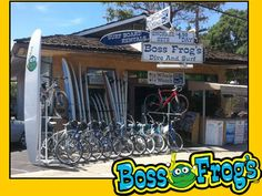 Boss frog Lahaina shop- we'll have to rent snorkel gear when we get to Maui - too much to take with us on this trip